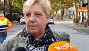 """Ponte Morandi, una sfollata: """"Sono scappata in pigiama, ora voglio riprendere il mio pianoforte"""" VIDEO"""