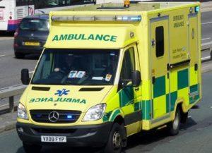 Ambulanza in Inghilterra