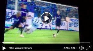 Antenucci video rigore sbagliato in Spal-Inter, concesso per fallo di Miranda