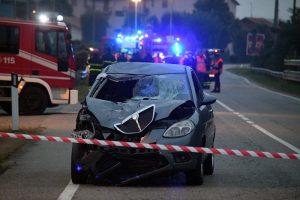 auto vimercate incidente