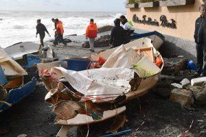 Genova, Boccadasse: borgo marinaro compleamente distrutto dalla mareggiata13