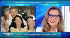 """Domenica Live, Cesara Buonamici: """"Da piccola sognavo di diventare suora"""""""