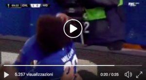 Chelsea-MOL Vidi 1-0 highlights, Morata video gol: Sarri vince sempre