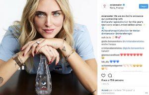 Chiara Ferragni, in vendita la bottiglietta d'acqua griffata: costa 8 euro...