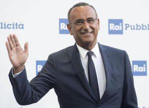 Carlo Conti lascia la Rai per Mediaset: il gossip lanciato da Alfonso Signorini
