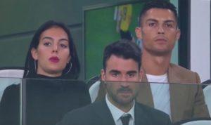 Cristiano Ronaldo e Georgina allo Stadium per Juventus-Young Boys