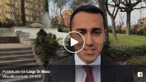 Luigi Di Maio: cabine e urne trasparenti anti voto scambio. Così si vede chi voti e butti un sacco di soldi