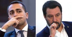 Matteo Salvini e Luigi Di Maio, la nuova coalizione anti Europa