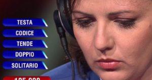 L'Eredità, Manuela Di Pede si ritira dopo tre puntate per motivi personali