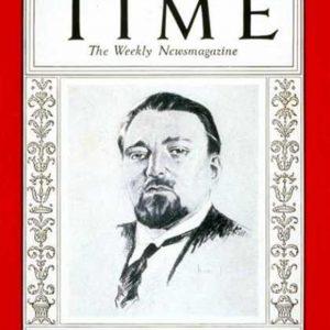 Colpo di Stato, 25 luglio 1943. Nella foto la copertina che il settimanale americano Time dedicò a Dino Grandi, il cui odg causò la fine del fascismo. Il re se ne servì ma poi affidò il governo a Badoglio. A Mussolini il re aveva detto: Sono l'unico amico che vi è rimasto.