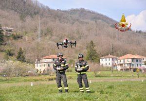 Droni, vigili del fuoco li usano per ponte Morandi e altre emergenze