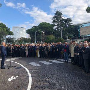 Eni, commemorazione di Enrico Mattei. Il ricordo di Claudio Descalzi