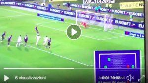 Fiorentina-Cagliari 1-1 highlights e pagelle, Veretout-Pavoletti video gol