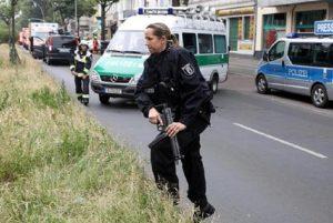Germania, sparatoria durante una operazione di polizia a Kircheim: due morti e due poliziotti feriti (foto d'archivio Ansa)