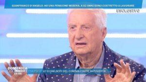 Gianfranco D'Angelo e le parole sulla pensione che fanno infuriare i fan