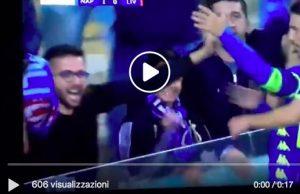 Insigne video gol Napoli-Liverpool 1-0: fa esplodere il San Paolo