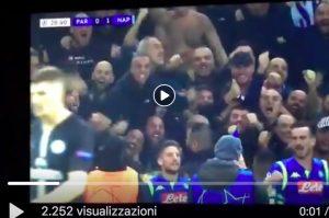 Insigne VIDEO GOL Psg-Napoli, il pallonetto che ha mandato in estati i tifosi napoletani