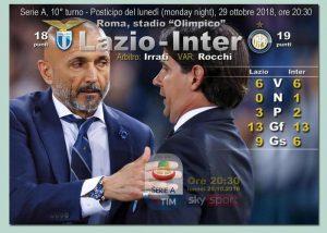 Lazio-Inter streaming e diretta tv, dove e quando vederla