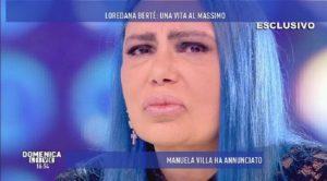 """Domenica Live, Loredana Bertè: """"Quando mi hanno messo la camicia di forza perché..."""""""