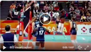 Mondiali femminili volley, impresa Italia: 3-2 al Giappone, è in semifinale