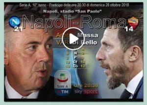 Napoli-Roma 1-1 highlights e pagelle (Ansa)