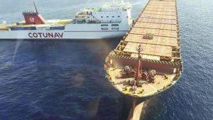 collisone nave corsica