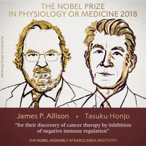 Premio nobel per la medicina per il freno naturale ai tumori