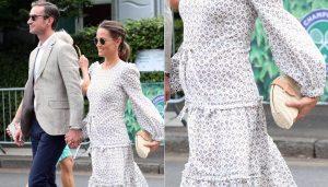 """Pippa Middleton e la gravidanza Zen: """"Medito e gioco a tennis"""""""