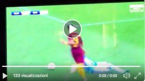 Roma-Spal, Pellegrini stende Lazzari: è rigore, var conferma