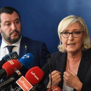 Candidati di Maggio dei Salvini d'Europa: Spitzenkandidat, operazione smonta Ue (foto Ansa)