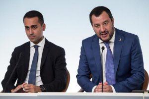 Luigi Di Maio Matteo Salvini