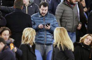 """Salvini attacca Donnarumma e Gattuso: """"Derby perso per colpa loro"""""""