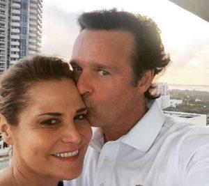 Simona Ventura è single: l'amore con Gerò Carraro è finito, ma guardano ancora la tv insieme