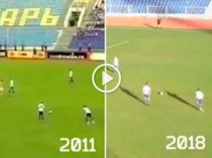 Roman Loktionov, dopo 7 anni, ha segnato lo stesso gol alla stessa squadra (VIDEO)
