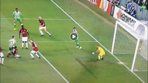 Betis-Milan 1-1 highlights, pagelle e video gol della partita di Europa League