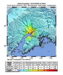 Terremoto Alaska, scosse di magnitudo tra 6.6 e 7.1. Allarme tsunami 3