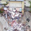 Maltempo Veneto, situazione apocalittica: diga ricoperta di alberi1