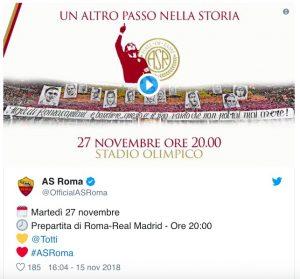 Francesco Totti nella Hall of Fame della Roma, la celebrazione prima di Roma-Real Madrid (VIDEO)