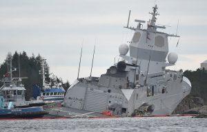 Norvegia, collissione fregata e petroliera