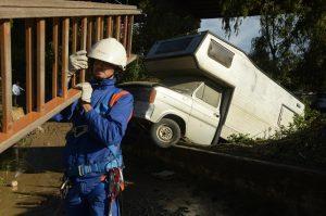 I danni causati dall'esondazione del fiume Milicia