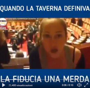 """Decreto Sicurezza, ok con la fiducia. Ma nel 2015 Paola Taverna la definiva """"strumento dittatoriale"""" VIDEO"""