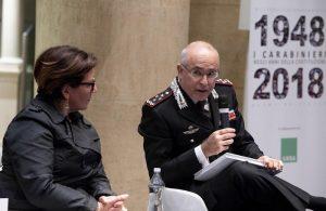 La Ministra Trenta col Comandante generale Giovanni Nistri