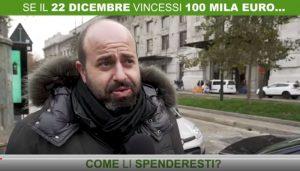 SuperEnalotto: cosa farebbero gli italiani se vincessero 100mila euro? VIDEO (con sondaggio italiani)