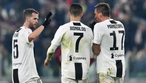 Serie A: Juve batte Roma e torna a +8 sul Napoli. Lazio supera Milan, è quarta