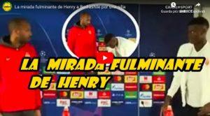 "Thierry Henry, lezione di vita al giovane Benoit Badiashile: ""Sistema la sedia!"" VIDEO"