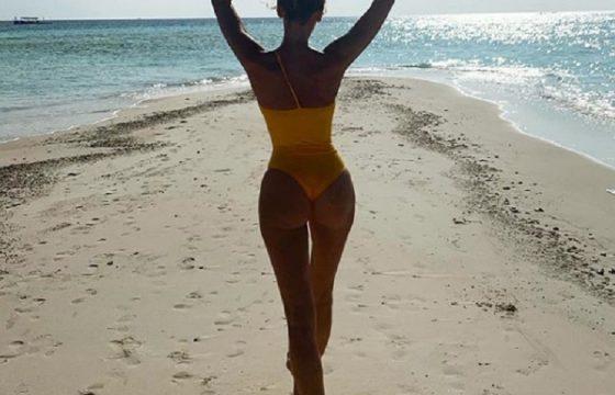 Alessia Marcuzzi, la foto ricordo dalla Maldive è... mozzafiato