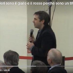 """Giuseppe Conte: """"I miei colori sono il giallo e il rosso perché sono un tifoso della Roma"""" VIDEO (Video Vista)"""