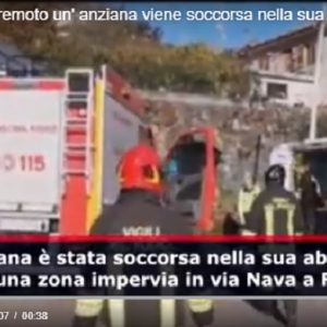 Etna: anziana ferita per il terremoto soccorsa a Fleri frazione di Zafferana Etnea VIDEO (video Vista)