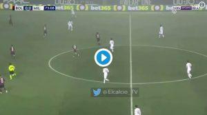 Bakayoko Tiémoué VIDEO espulsione al 75' di Bologna-Milan