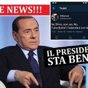 Silvio Berlusconi sta bene. Il mistero del tweet e la smentita di Corona